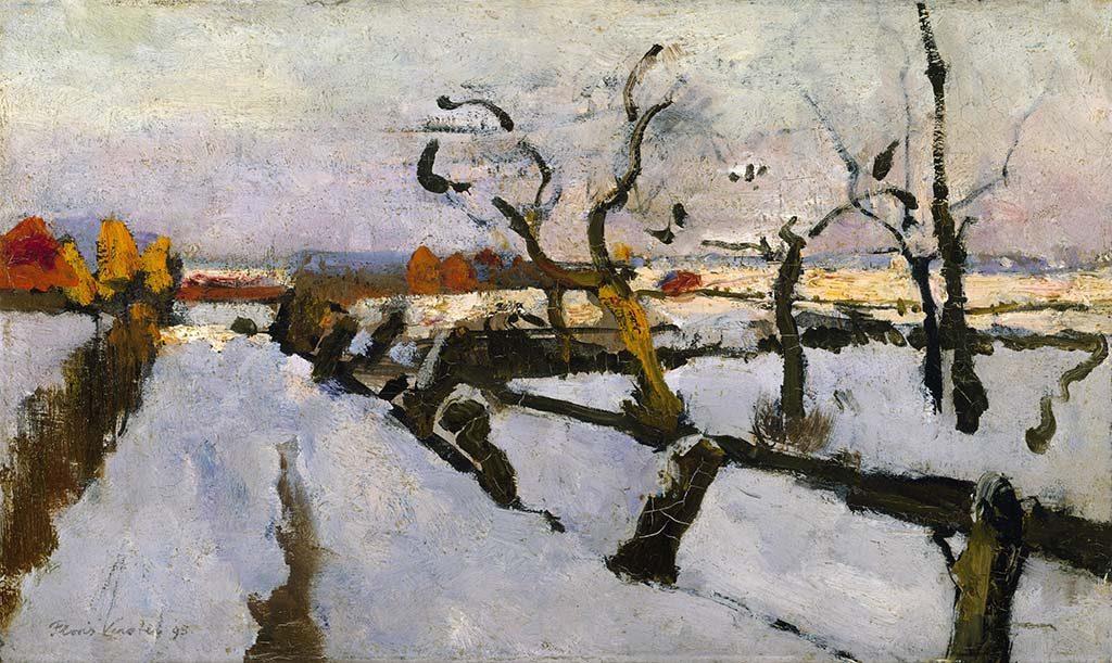 vier-realisten_Floris-Verster-Sneeuwstudie-1895-coll-Kröller-Müller-Museum