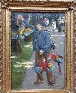 Max-Liebermann-in-Den-Haag-De-papegaaienman-Artis-foto-Wilma-Lankhorst