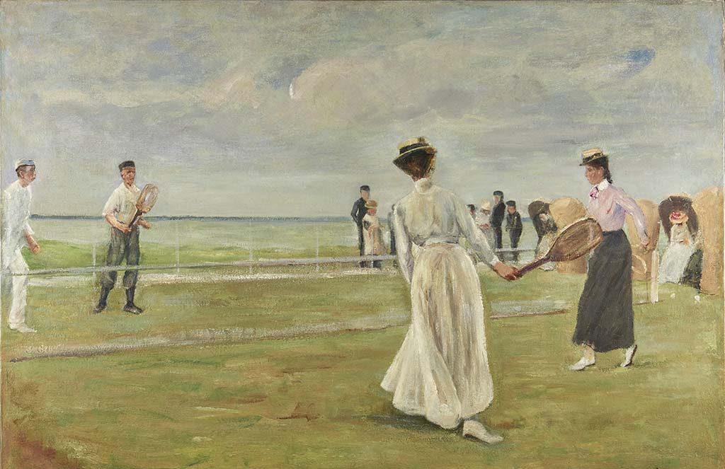 Max Liebermann 1847-1935_-Tennisspelers-aan-zee-eerste-versie-1901-coll-Museum-der-Westküste