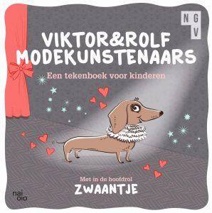 Viktor en Rolf omslag kinderboek
