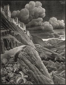 Castrovalva-1930-M.C.-Escher-©-the-M.C.-Escher-Company