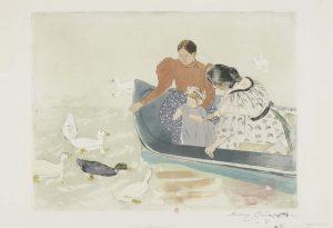 Mary_Cassatt_De-Repas-des-canards-droge-naald-1895-coll-Jacques-Doucet-Paris