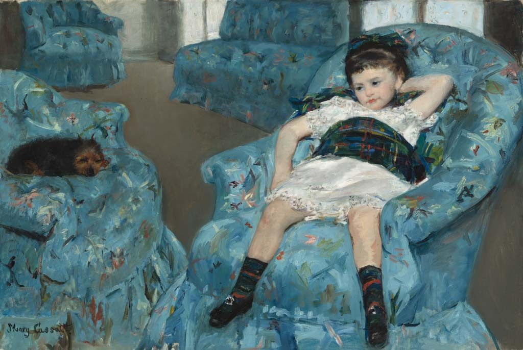 Mary_Cassatt_Het-kleine-meisje-in-de-blauwe-leunstoel-1877-1878-coll-Nat.Gallery-of-Art-Washington