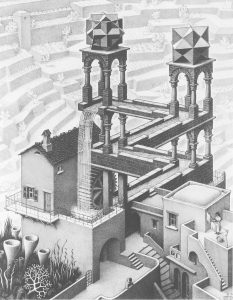 Waterval-1961-M.C.-Escher-©-the-M.C.-Escher-Company-B.V.