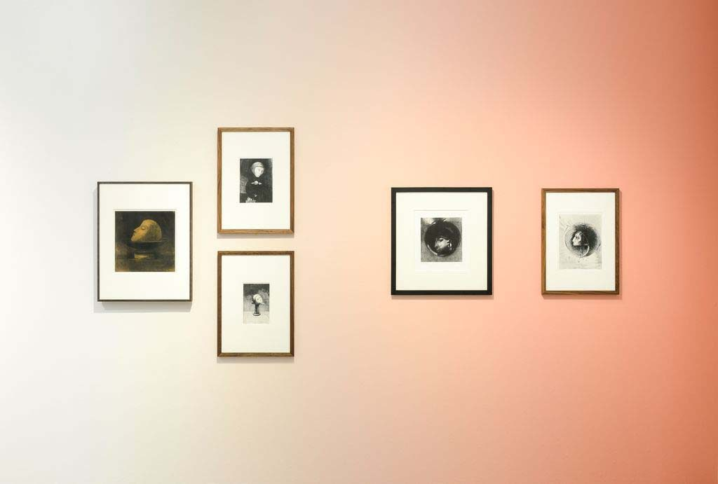 Odilon Redon serie-hoofden-photo_-Marjon-Gemmeke