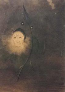 Odilon_Redon_Moerasbloem_serie-Himmage-aan-Goya-1885_pastel_-foto-wilma-Lankhorst