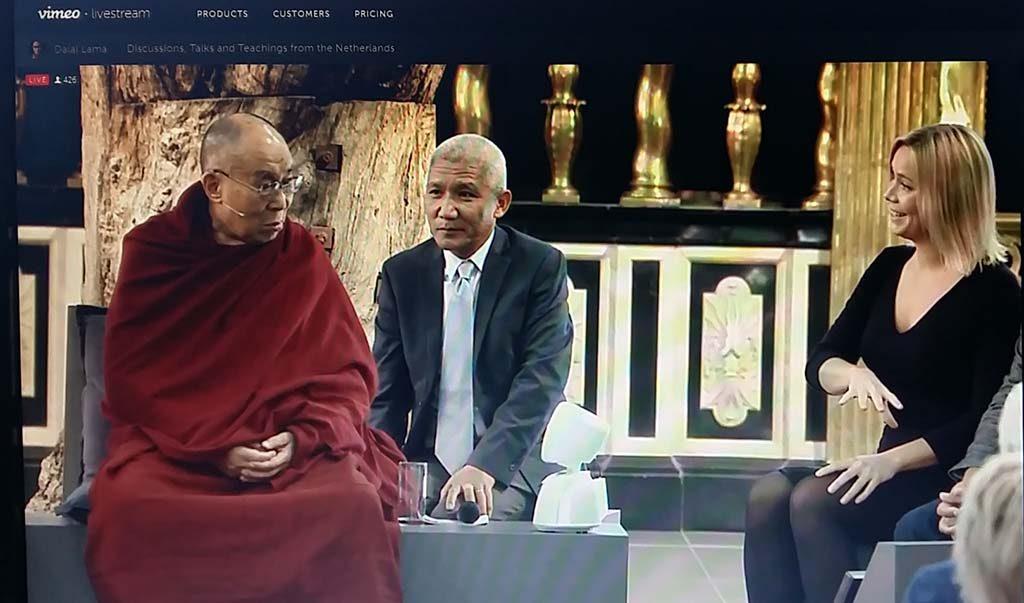 Boeddha in de Nieuwe Kerk livestream-foto-Wilma-Lankhorst