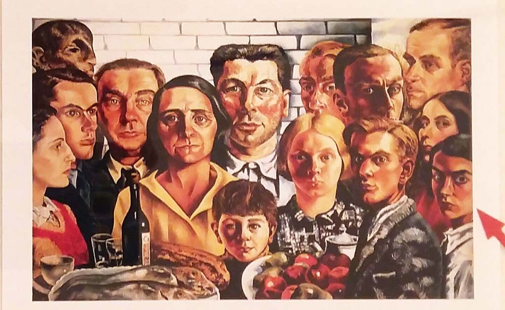 Eva-Besnyö-Charley-Toorop-De-maaltijd-der-vrieden-1932-1935-r.-Eva-kleurenkopie