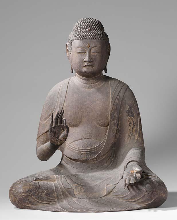 Het leven van Boeddha_Boeddha Amida, Japan, 1125–75, Rijksmuseum, Amsterdam.