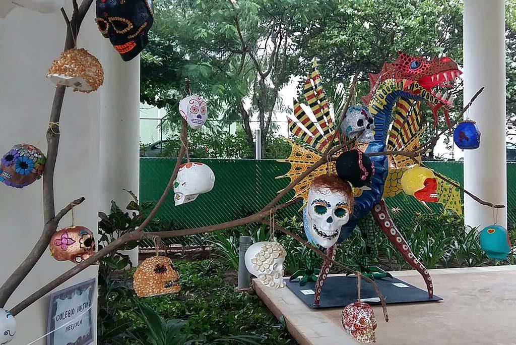Dia de los Muertos Cancun-Museo-Maya-de-Cancun-2-foto-wilma-Lankhorst