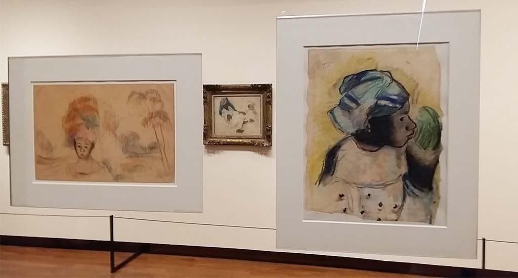 Gauguin-en-Laval-op-Martinique-doorkijkje-met-schets-foto-Wilma-Lankhorst.