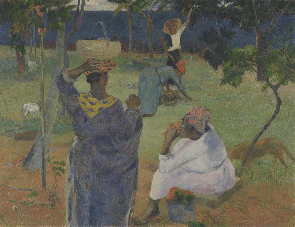 Gauguin_de-mangobomen-Martinique-1887-coll-vangoghmuseum-AMS