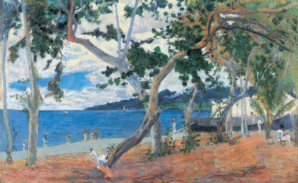 Gauguin_kunstlandschap_baai