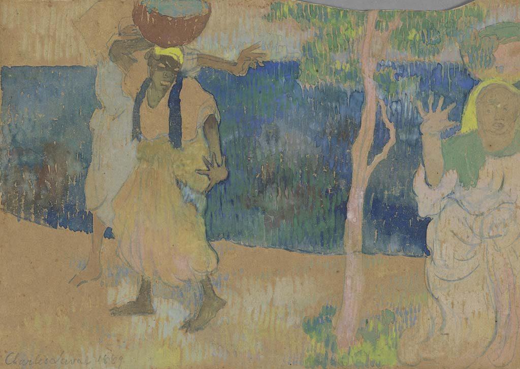 Laval Vrouwen-aan-de-kust-1889