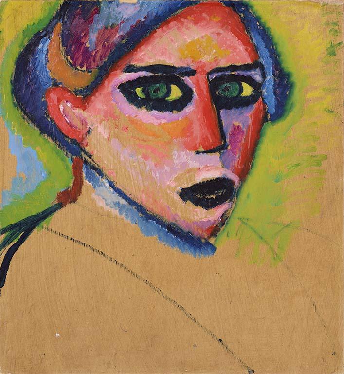 Alexej von Jawlensky vrouwenkop-1911