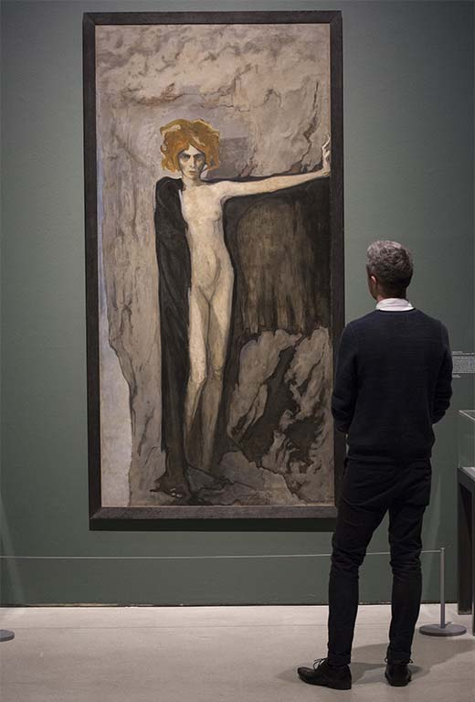Barbican-Centre-portret-van-Luisa-Casati-1920-Romaine-Brooks-foto-John-Phillips-Getty-Images