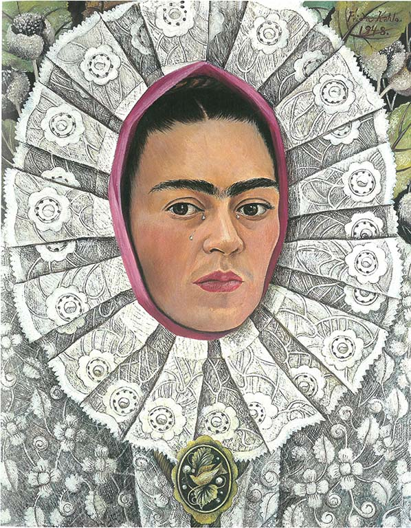 Frida Kahlo -zelfportret-1948-c-Private-Collection.