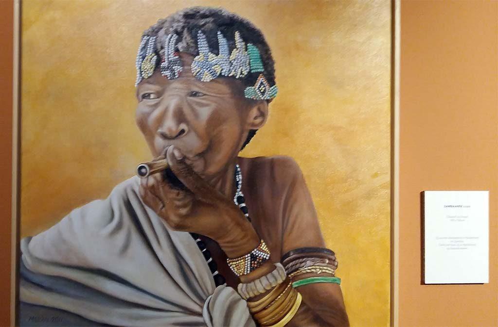 Wereldvrouwen Marianne-van-Gaale-SAN-in-Namibie-2006-foto-Wilma-Lankhorst.