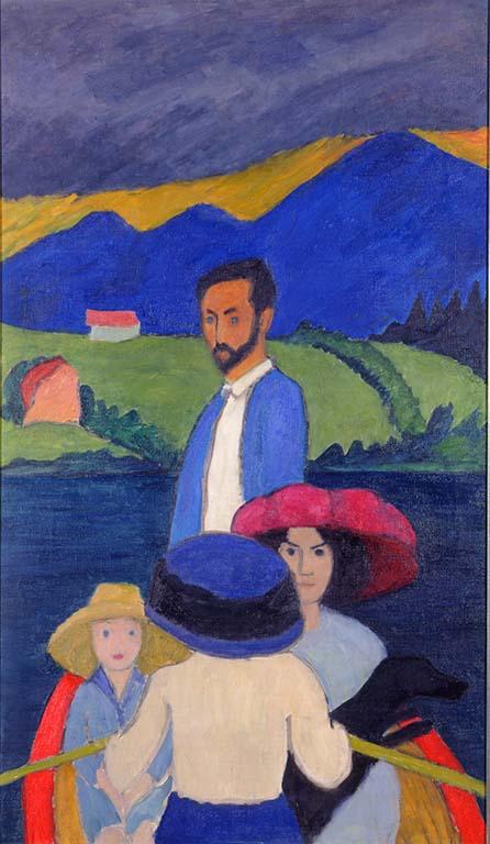 Gabriele-Münter_1910-Kanotocht