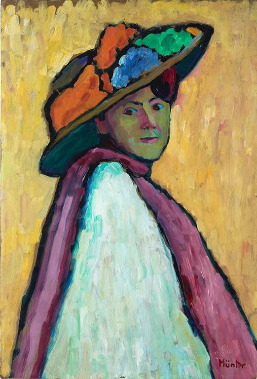 Gabriele Münte portret-Marianne_Werefkin