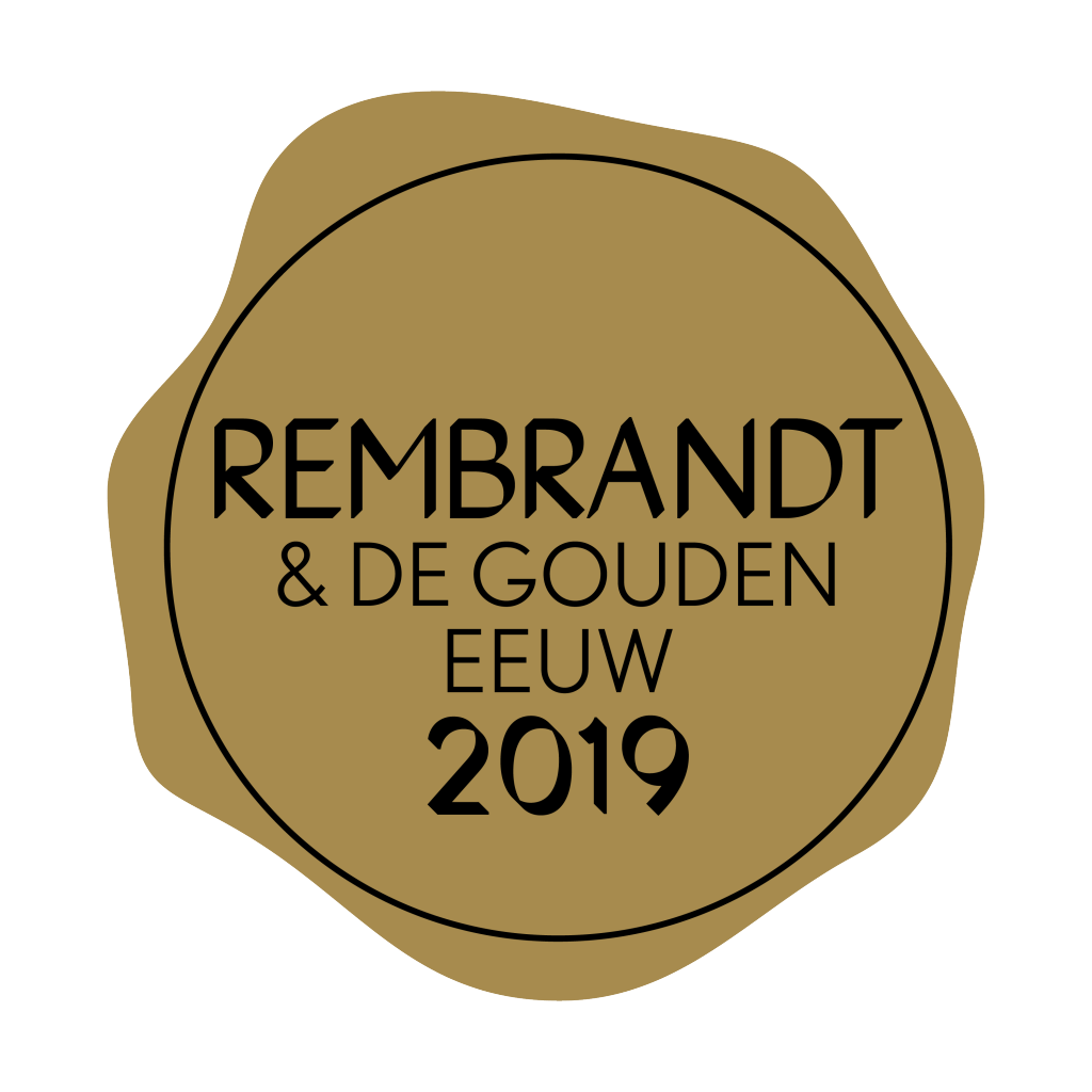 Gouden logo Rembrandt jaar 2019