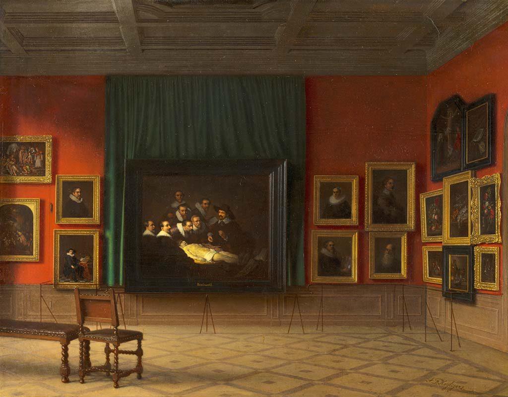 Rembrandt-jaar-Mauritshuis-zaalimpressie.