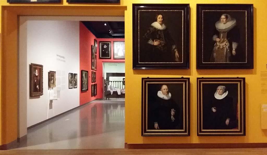 Gouden Eeuw Saskia-en-Rembrandt-begin-expo-goudgeel-de-herfst-Fries-Museum-foto-Wilma-Lankhorst