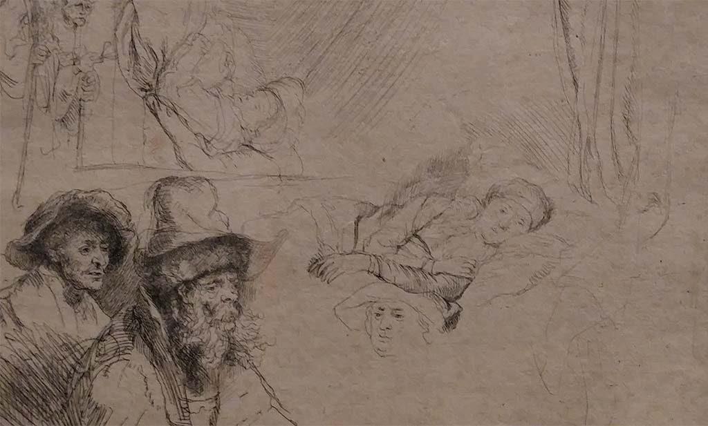 Saskia en-Rembrandt-laatste-deel-studie-zieke-vrouw-in-bed-1641-1642-Fries-Museum-foto-Wilma-Lankhorst