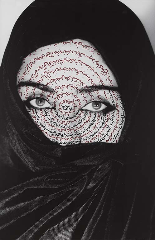 Shirin_Neshat I-am-its-Secret_Women-of-Allah-1993-foto-Plauto-©-Shirin-Neshat-courtesy-de-kunstenaar-en-Gladstone-Gallery