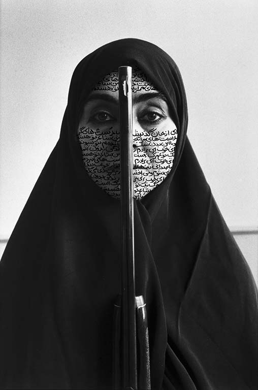 Rebellious-Silence-Women-of-Allah-1994-foto-Cynthia-Preston-©-Shirin-Neshat-courtesy-de-kunstenaar-en-Gladstone-Gallery