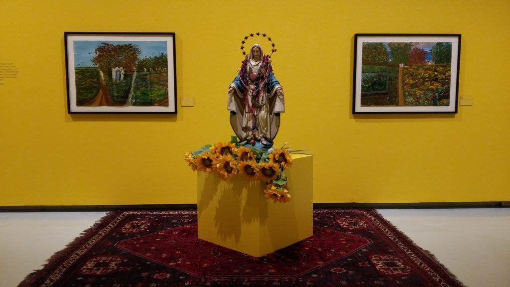 Ceija Stojka de bevrijding zonnebloemen en Maria