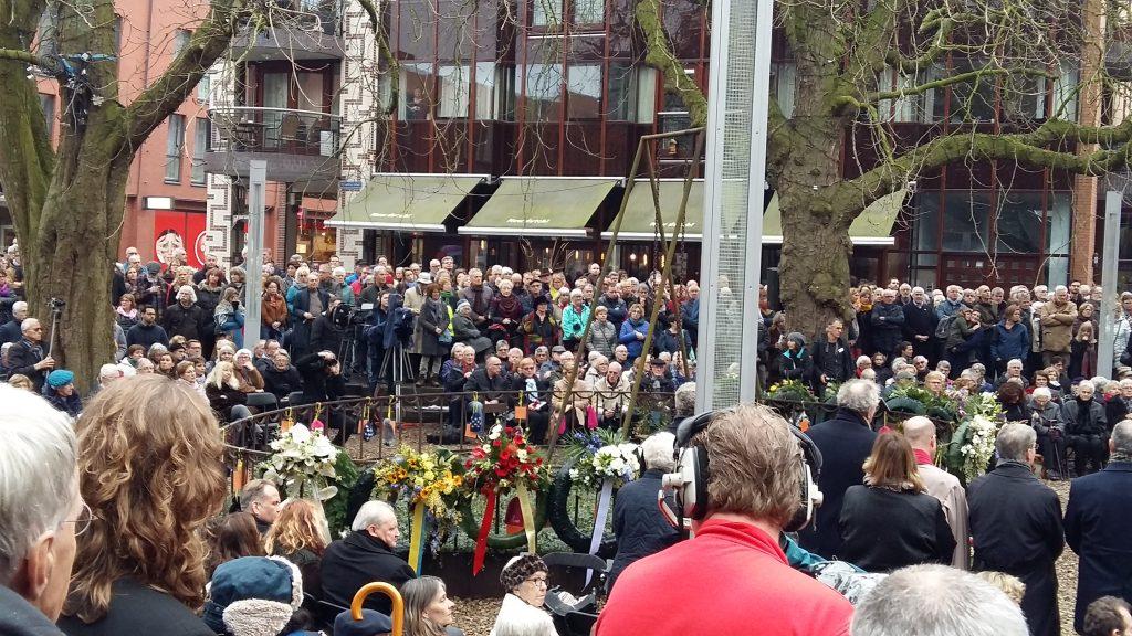 Nijmegen herdenkt februari bombardement 22-2-1944-2019 foto Wilma Lankhorst