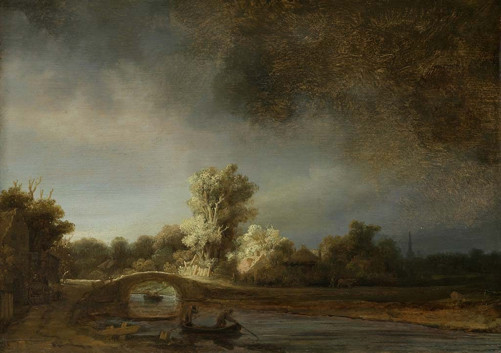 Alle_Rembrandts_Rembrandt-van-Rijn-Landschap-met-stenen-brug-ca.1638