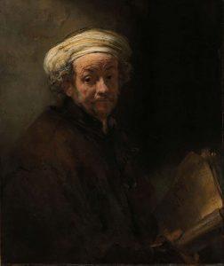 Alle Rembrandts Rembrandt-van-Rijn-Zelfportret-als-apostel-paulus