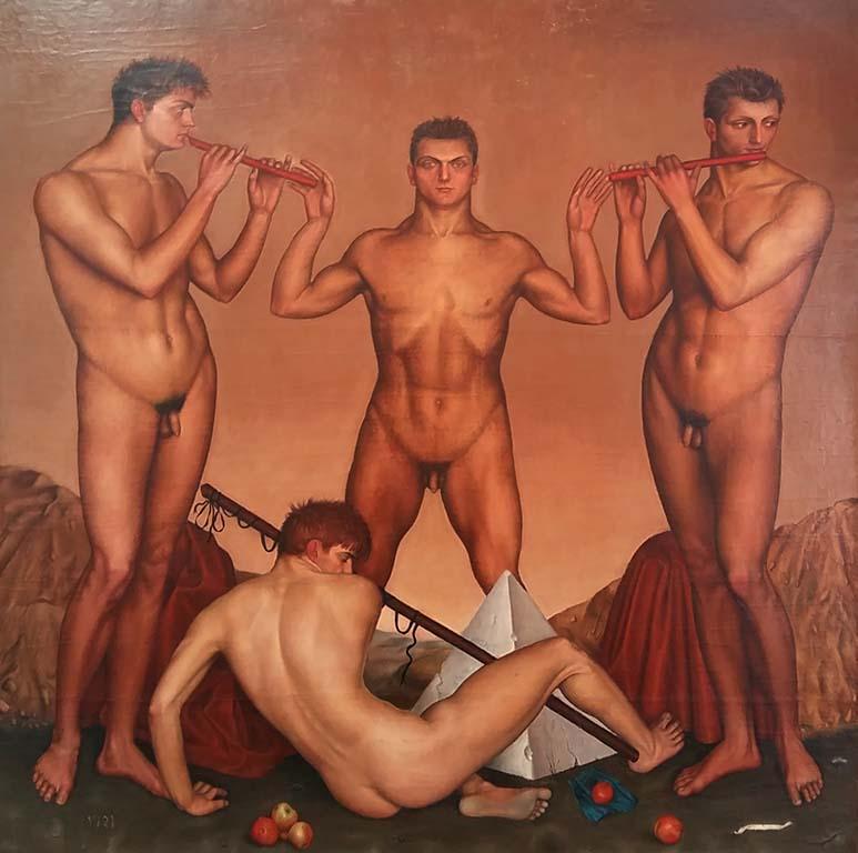 Broers-Barraud_-François-Barraud-de-mucisi-de-vier-broers-1931-particuliere-collectie-foto-Wilma-Lankhorst