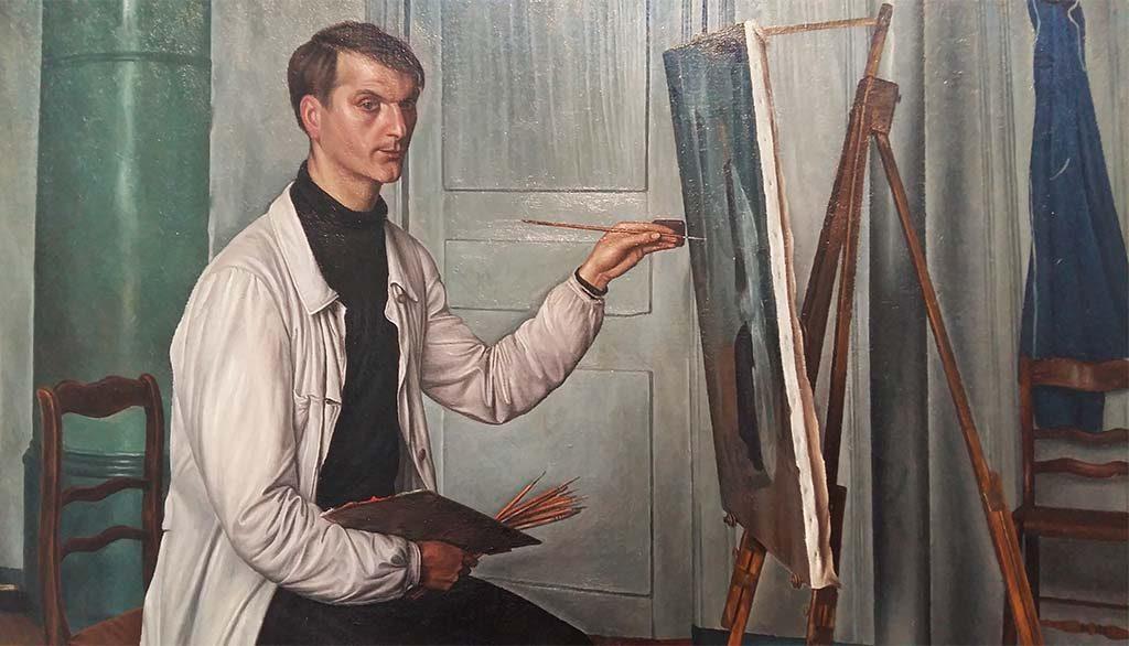 Broers Barraud Aurèle-Barraud-zelfportret-1929-1930-Coll.-Stiftung-för-Kunst-Winterthur-foto-Wilma-Lankhorst