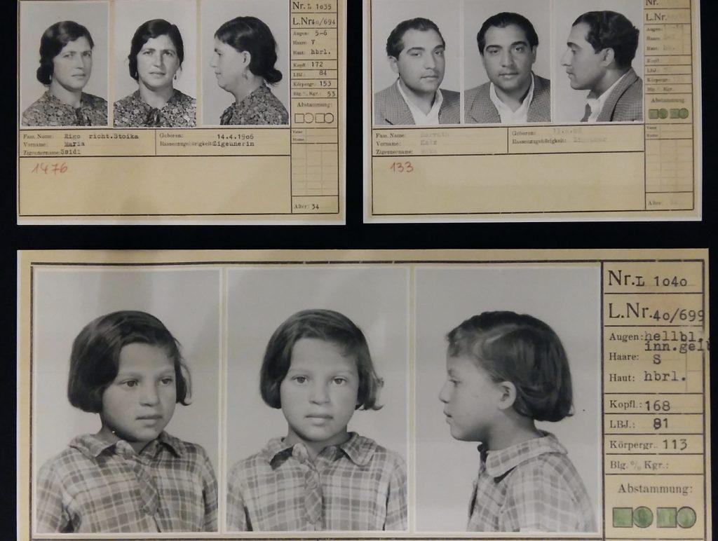Ceija Stojka persoonsbewijzen Sidi, Wacker en Ceija Stojka foto Wilma Lankhorst
