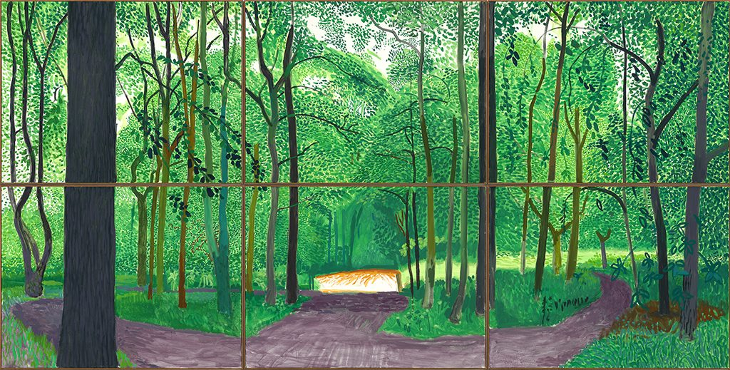 David_Hockney-Woldgate-Woods-26-27-30-juli-2006-©-David-Hockney-Foto-Richard-Schmidt.