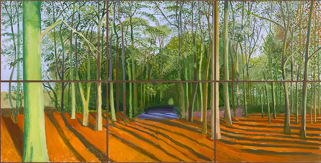 David_Hockney-Woldgate-Woods-6-9-november-2006-©-David-Hockney-Foto-Richard-Schmidt
