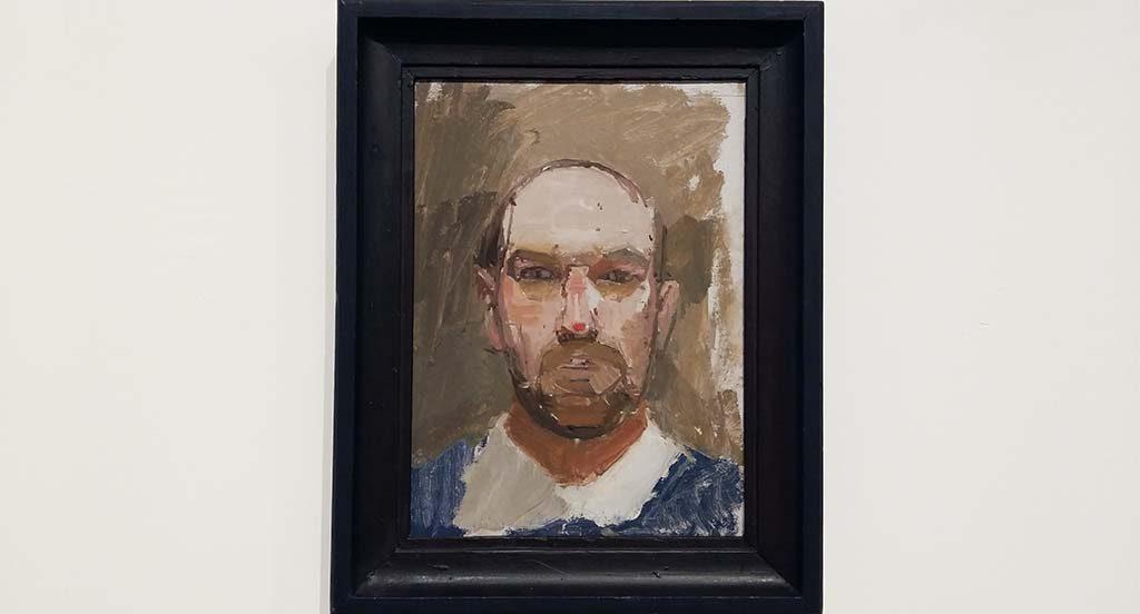 Euan_Uglow-zelfportret-nadat-hij-op-zijn-neus-was-gevallen-1963-foto-Wilma_Lankhorst