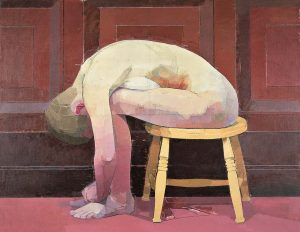 Euan_Uglow_-Curled-Nude-on-a-Stool-1982-1983-Hull-City-Museum-and-Art-Galler_-courtesy-Estate-of-Euan-Uglow