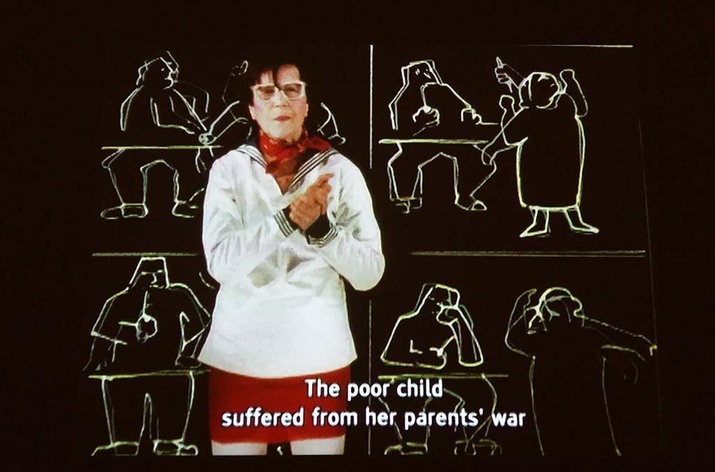 Maria_Lassnig-videostill-Cantate-1992-©-Maria-Lassnig-foto-Wilma-Lankhorst