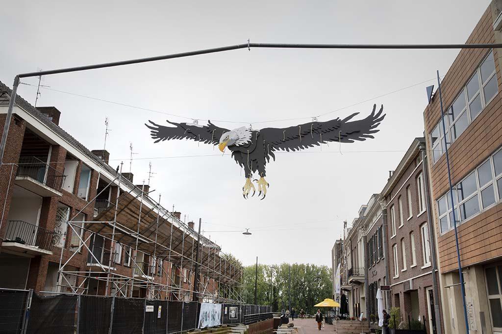 Biënnale Gelderland de adelaar van Erik-Mathijssen © Ton Toemen
