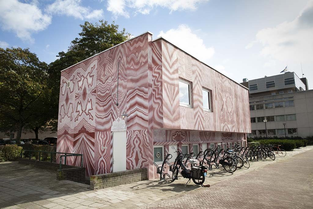 Biënnale Gelderland Gijs-Frieling_COC-Pink-marbled-2019 foto Ton Toemen