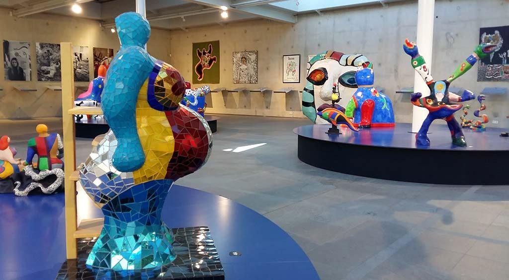 Niki de Saint Phalle zaalimpressie-foto-Wilma-Lankhorst