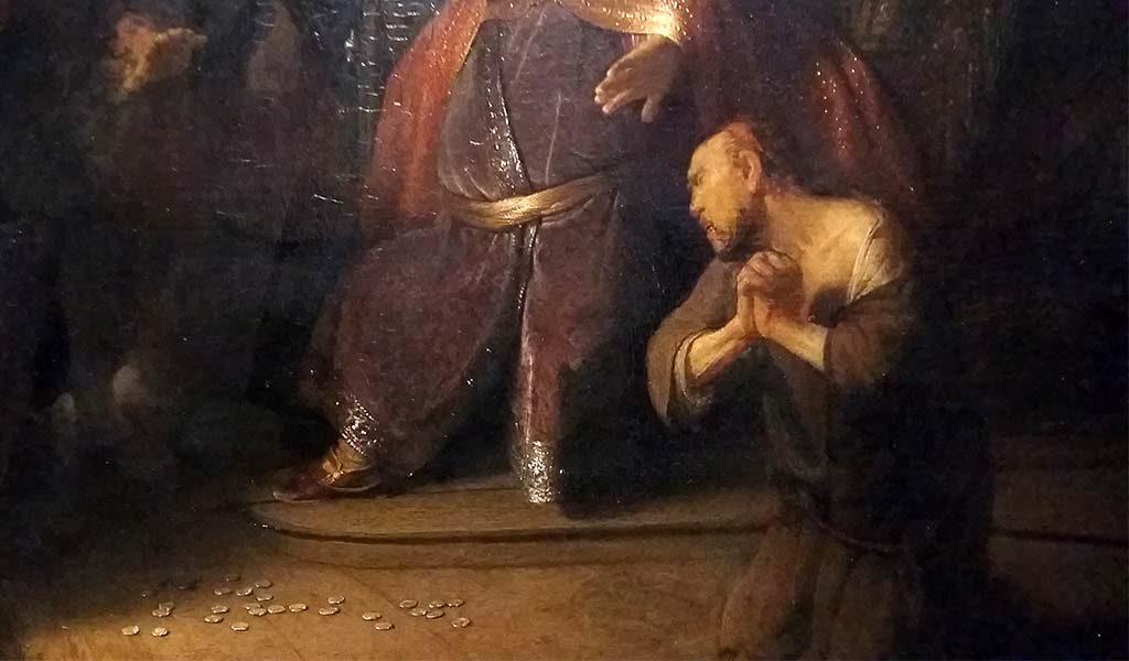 Leiden_de_jonge_Rembrandt_Het-berouw-van-Judas-foto-Wilma_Lankhorst