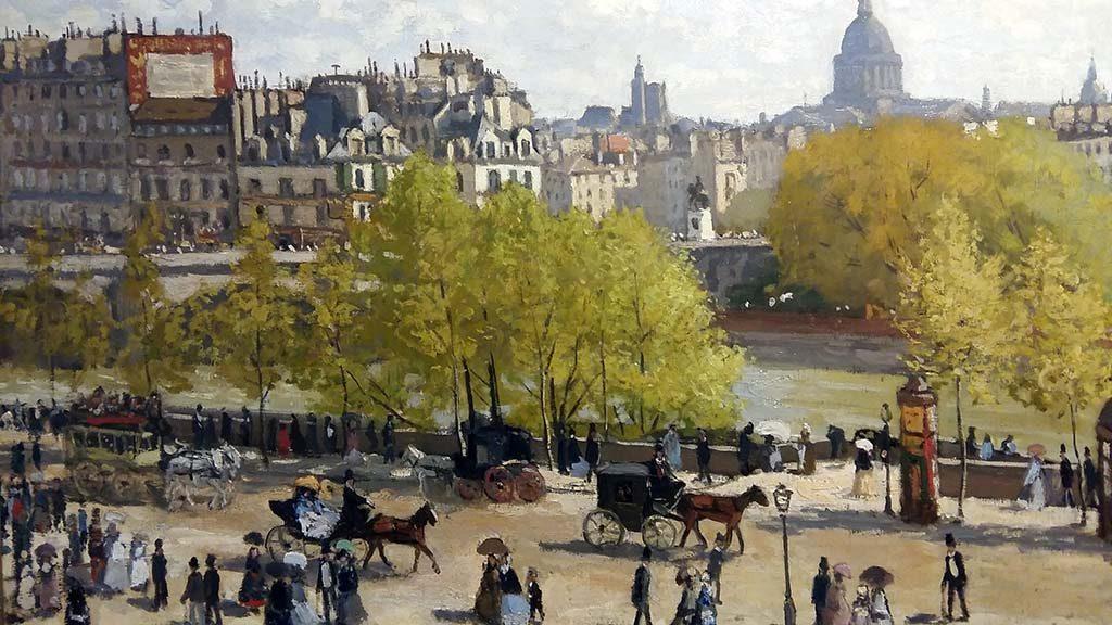 Monet Quai-du-Louvre-1876-_Kunstmuseum_Den-Haag-foto-Wilma_Lankhorst