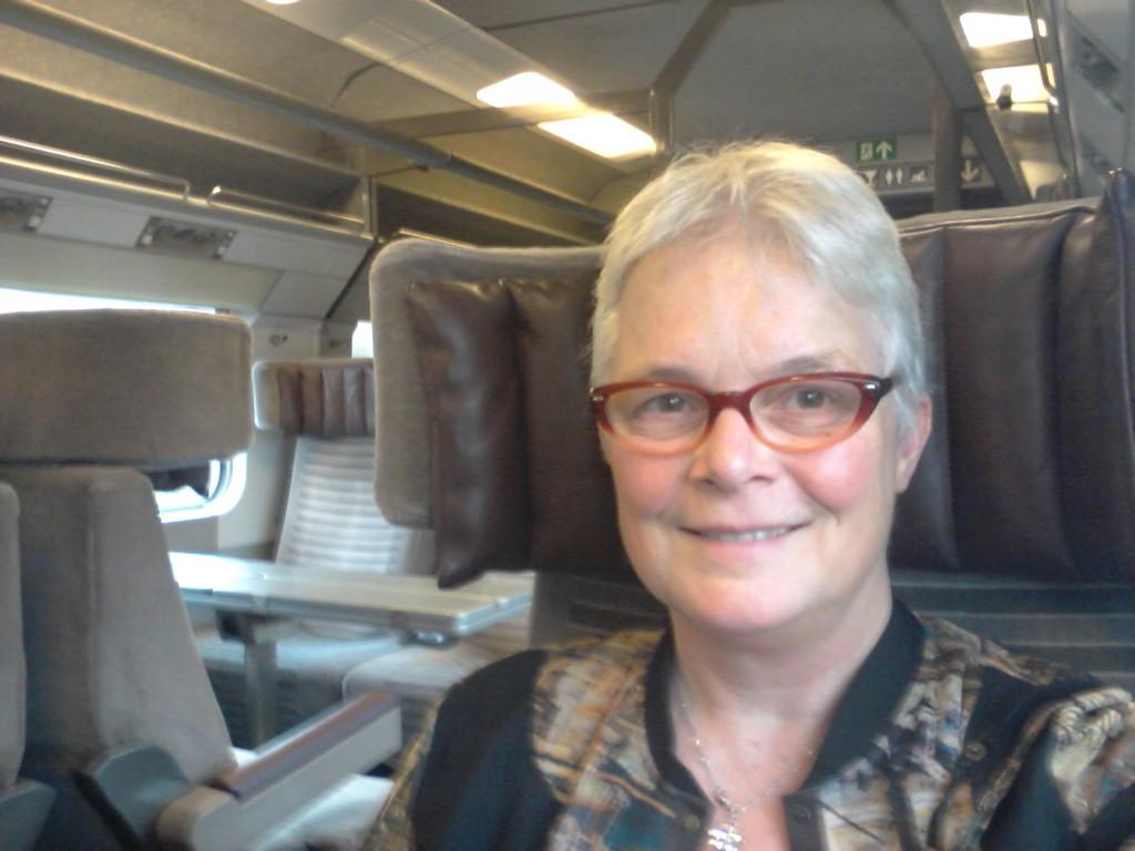 Met de trein naar Londen