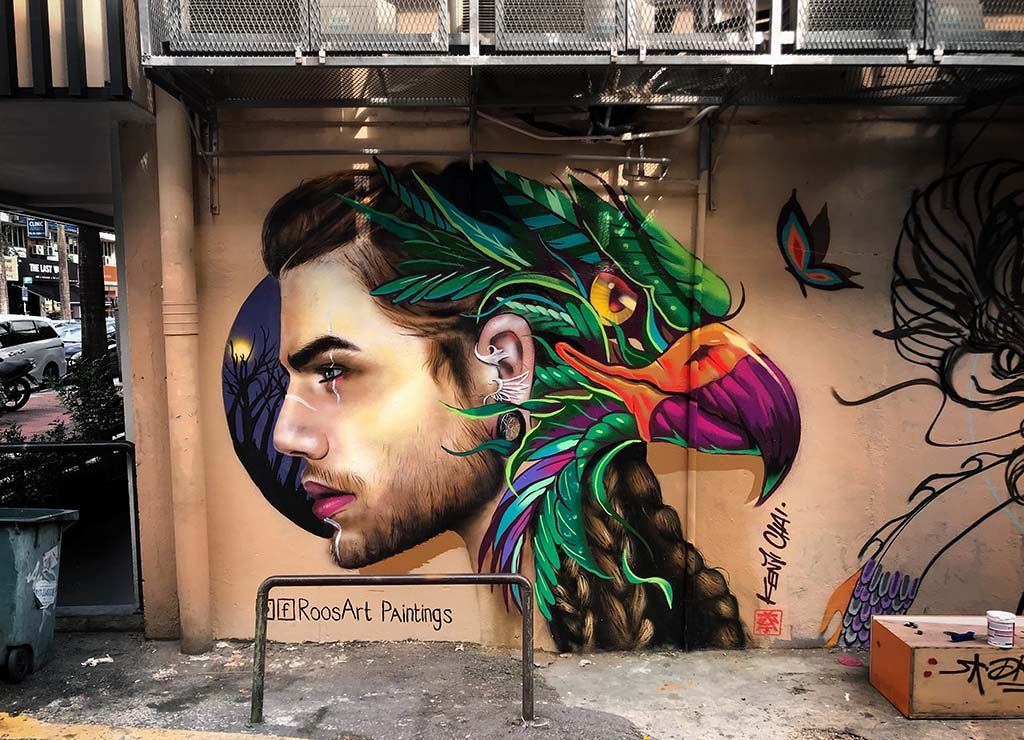 Rosalie de Graaf The Falcon (februari 2019) Kuala Lumpur