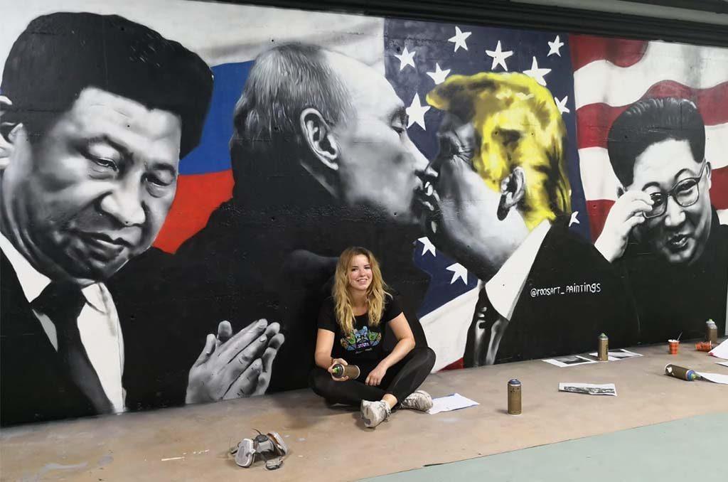 Rosalie_de_Graaf_kussende-wereldleiders
